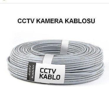 Bakı şəhərində Kamera kabeli  CCTV Kablo 100 Metre