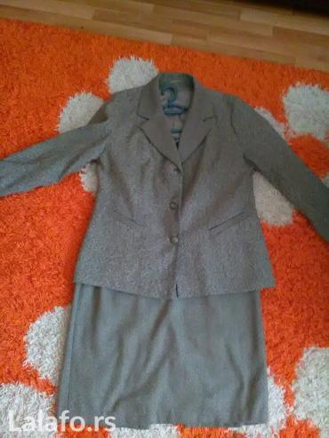 Zensko odelo,sako i suknja od stofa postavljen i izuzetno - Indija