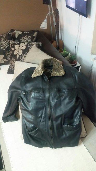 Kozna jakna xxl original jagnjeca koza nova kao na slici sa krznom - Jagodina