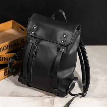 сумка рюкзак кожа в Кыргызстан: Вместительный рюкзак • Удобная • Вместительная • Материал: PU кожа • К