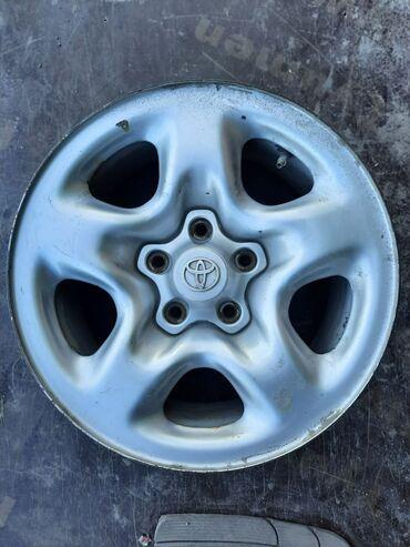 Продаю Комплект железных дисков R16 на lexus rx300Toyota harrier