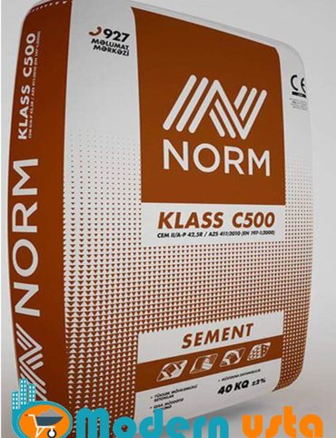 Bakı şəhərində Norm C klass 500 marka / 40 kq - 6.70 Azn