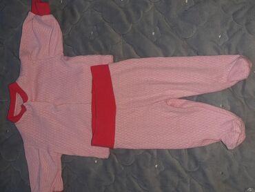 набор для новорожденного в Кыргызстан: Продаю ползунки с кофточкой.Размер 50-54 на новорожденую.Ткань тоненьк