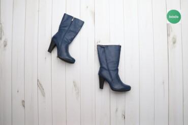 Женская обувь - Украина: Жіночі черевички на підборах р.37    Висота каблука: 8 см Висота халяв