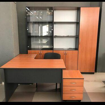 Флипчарты abc office для письма маркером - Кыргызстан: Кабинет офисныйДля персоналаСтол эргономичный.Тумба приставная.Шкаф