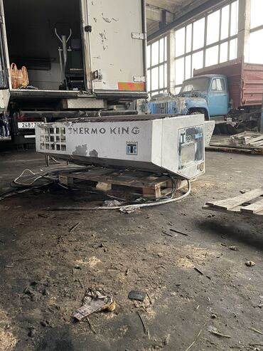 Рефрижератор термокинг агрегат +30-30 на запчасти радиатор не