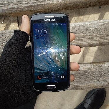 Samsung в Шемахы: Б/у Samsung Galaxy S4 Mini Plus 8 ГБ Черный