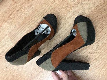 мужские-туфли-бишкек в Кыргызстан: Продам туфли в отличном состоянии! Как новые. Одевала один раз. Замша