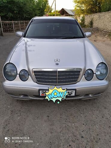 Mercedes-Benz в Кыргызстан: Mercedes-Benz E-класс AMG 2 л. 2002 | 265149 км