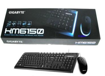 Keyboard + mouse Gigabyte KM6150 USBTexniki təfərrüatlarMarka adı