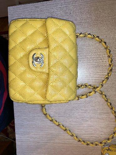 сумка-в-багажник в Кыргызстан: Небольшая сумка, chanel реплика 1:1, в идеальном состоянии
