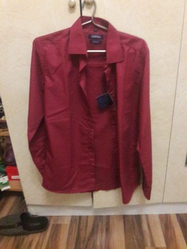 НОВЫЙ мужс рубашка разм s цена 500сом был куплен 1200сом в Бишкек