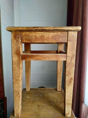 Деревянные стулья 6 штук за 500 сом