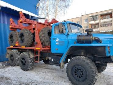 Трубоплетевозный автопоезд на шасси в Бишкек