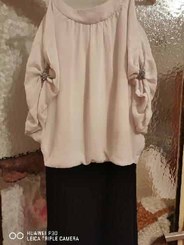 Kosulja-haljinica-pre-stoji-markirana - Srbija: Svecana haljinica, prelepo stoji rukavi padaju