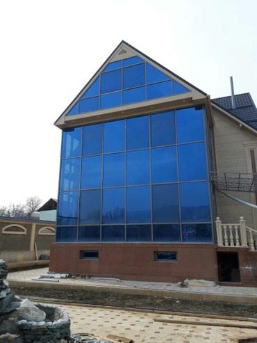 Изготовление алюминиевых фасадов в Бишкек