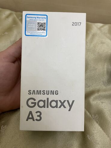 chjornye ot samsung naushniki в Кыргызстан: Новый Samsung Galaxy A3 2017 16 ГБ Золотой