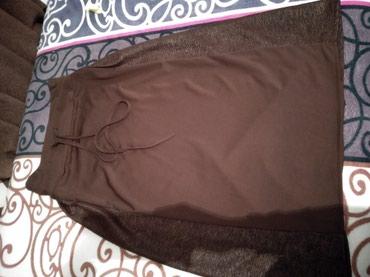 Юбка коричневая длинная ,150 в Бишкек