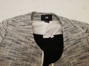 Pencil suknja afroditemodecollection - Srbija: Potpuno nov HM blejzer, jaknica na kopčanje, od tanjeg pamučnog tvida