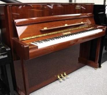Avropa istehsalı akustik piano. Müxtəlif marka və modellərdə Akustik
