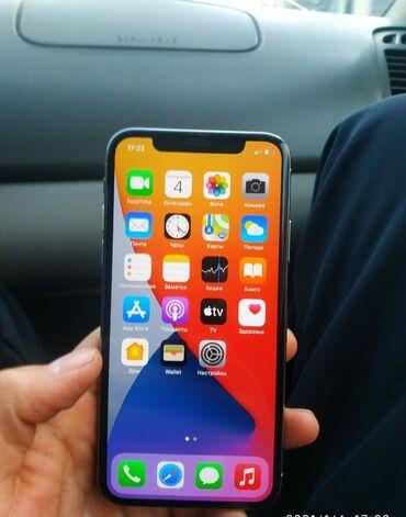 Электроника - Боконбаево: IPhone X   64 ГБ   Белый Б/У   Гарантия