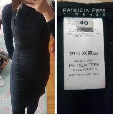 Original Patrizia Pepe Firenze, poslovna uska haljina. Pozadi - Belgrade