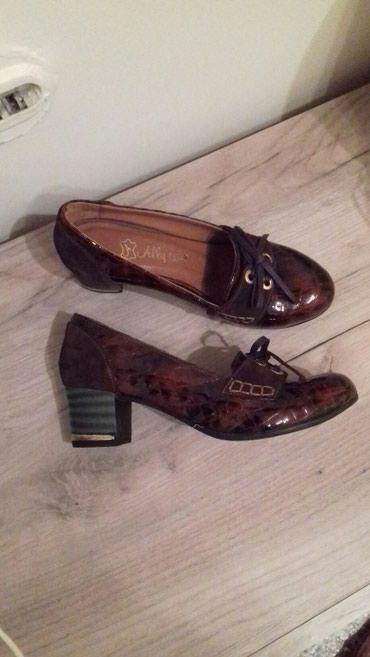 Braon kozne cipele, 37 br.Noveee - Kragujevac