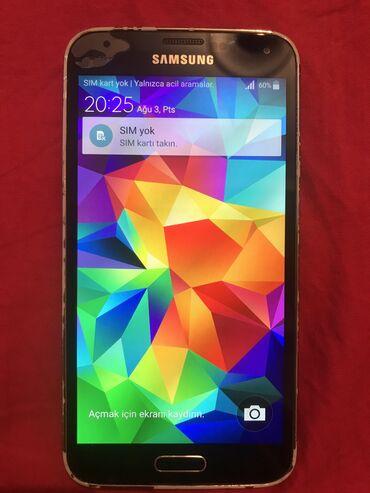 ayfon s5 - Azərbaycan: İşlənmiş Samsung Galaxy S5 qara