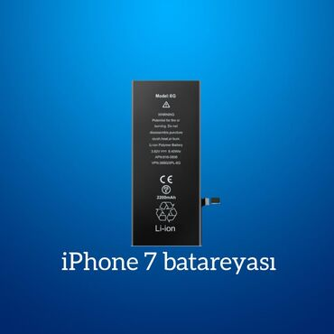 """Enerjiyükləyicilər - Azərbaycan: """"Apple İPhone 7"""" batareyası"""