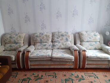 спа для рук в Кыргызстан: Продаём диваны,БУ в хорошем состоянии. Средний выдвигается впередмог