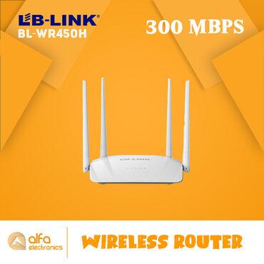 Lb-link BL-WR450H routeri 3 - ü birindədir. Həm router həm akses point