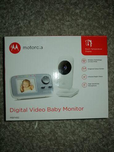 Melodika - Srbija: Bebi alarm Motorola mbp 482Video nadzor bebe i danju i nocuDozivanje
