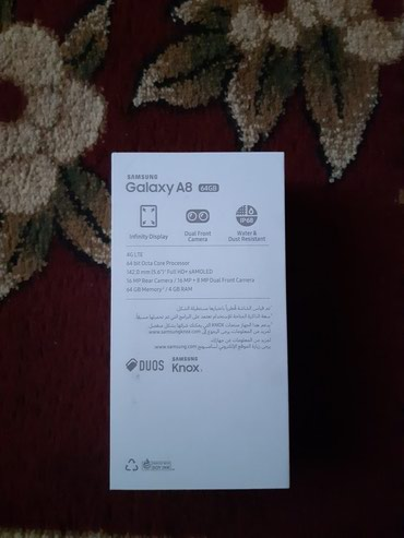 Samsung Galaxy a8 новый из ОАЭ.Память 64gb. Озу в Бишкек