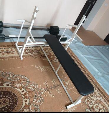 Спорт и отдых в Беловодское: Продаю самодельный скамье для жима лёжа разборный