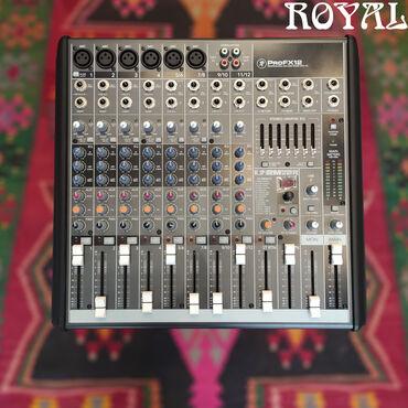 phantom 3 квадрокоптер в Азербайджан: Mikşer pultuMackie ProFX12Xüsusiyyətləri:Built-In Power Amplifier