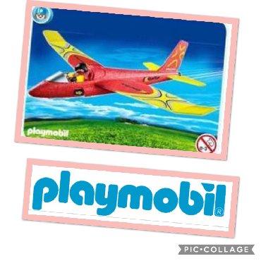 Igračke | Srbija: PLAYMOBILE AVION 48 cmRaspon krila - 50cmRasklopiv, pilot koji se moze