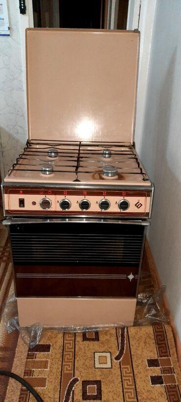 духовка плита в Кыргызстан: Газ плита.в рабочем состояний.Все комфорки и духовка работают
