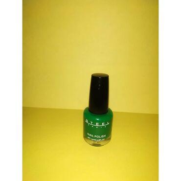Продаётся ярко-зеленый лак насыщенный пигмент,оригинал из