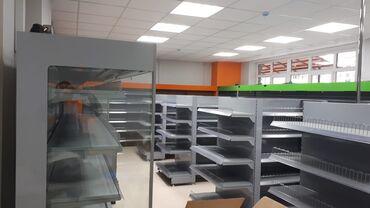 Шифер бу - Кыргызстан: Стеллаж торговый Полки для магазина Торговое оборудование Полки Стелаж