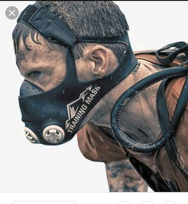 Maskalar, eynəklər - Sumqayıt: Training Mask-nəfəsi tənzimləməkdxanyani artirmaq üçün nezerde