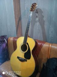 соло гитара в Кыргызстан: Продаю гитару Yamaha LJ6 . Верхняя дека из массива голубой