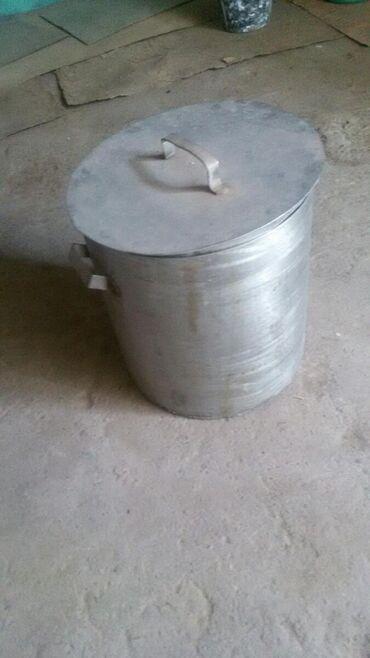 Кухонные принадлежности в Кара-Балта: Нержавейка с крышкой.25литров 1200 сом. Кара-Балта
