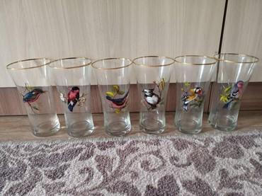 Стеклянные стаканы - Кыргызстан: Стаканы 6 шт, пр-во Россия