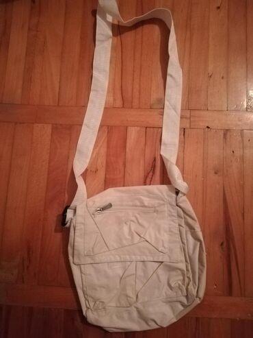Torba sirina cm - Srbija: Bela torbica 50d Sirina 23 cm Duzina 25 cm