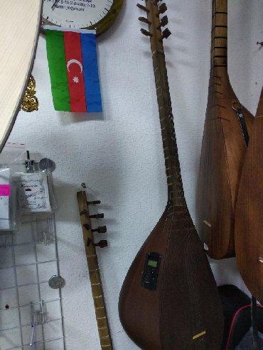 - Azərbaycan: Saz ekvalayzezli qədimi qara saz