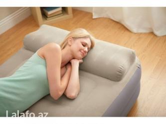 Bakı şəhərində Односпальная надувная кровать Intex 67776 Take Along Bed