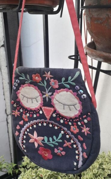 Accessoriz tasnica SOVA Od textila Zakopcavanje na zip odpozadi