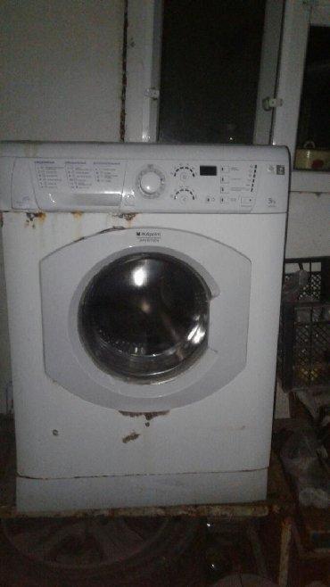 aristonlar - Azərbaycan: Öndən Avtomat Washing Machine Hotpoint Ariston 5 kq