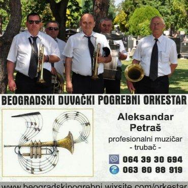 Beogradski duvački pogrebni orkestar, sastavljen od profesionalnih - Belgrade