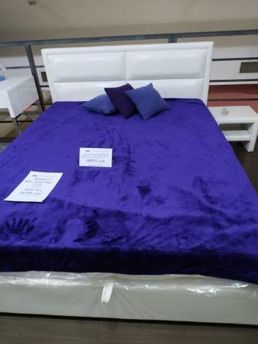 Акция!!! Кровать Тетра 1,60*2,00 белая с коробом для белья в Бишкек